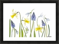 Spring Picture Frame print