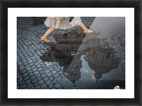 Jump Picture Frame print