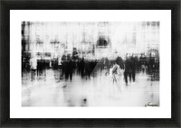 Lost among ghosts Picture Frame print