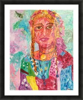 Gypsy Queen Picture Frame print