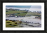 Agricultural mist Picture Frame print