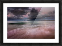 Carbis Bay moonlight Picture Frame print