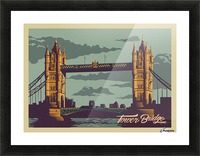 London Tower Bridge Picture Frame print
