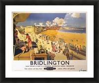 Bridlington poster Blake, F Donald 1950 Picture Frame print