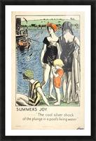 Summer Joy Picture Frame print