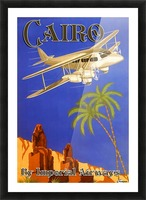 Cairo By Imperial Airways Picture Frame print