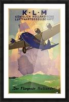 Original Vintage 1933 KLM Travel Advertising Poster Picture Frame print