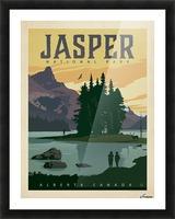 Jasper National Park Picture Frame print