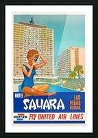 Hotel Sahara Las Vegas Nevada Picture Frame print