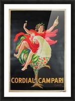 Cordial Campari Picture Frame print