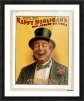 Happy Hooligan's Trip around the world Picture Frame print