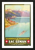 Lake of Geneva Picture Frame print