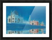 Taj. Picture Frame print