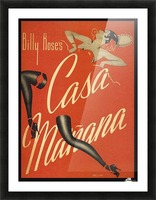 Billy Rose's Casa Manana Picture Frame print