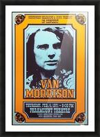 Van Morrison Picture Frame print