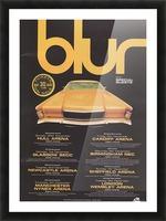 Blur Picture Frame print