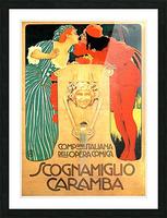 Scognamiglio Caramba Picture Frame print