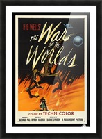 The War of the Worlds Picture Frame print