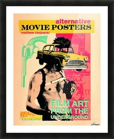 Film Art from the underground Picture Frame print