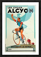 Alcyon Cycles Picture Frame print