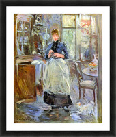 The Dining Room by Morisot Picture Frame print