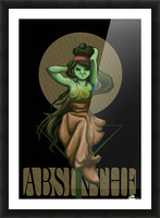Green Fairy Absinthe Poster Picture Frame print