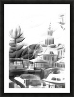 Vlaardingen - 14-09-16 Picture Frame print