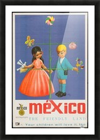 Mexico The friendly land Picture Frame print