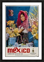 Mexico Flowers every day of the year Picture Frame print