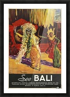 See Bali Picture Frame print