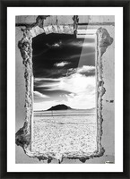 Out There! Picture Frame print