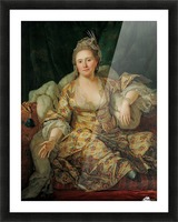 Portrait of the Countess of Vergenne Picture Frame print