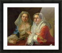 The Mirabita Sisters Picture Frame print
