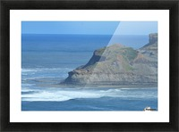 Baboon rock Picture Frame print