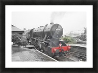 Old engine Picture Frame print