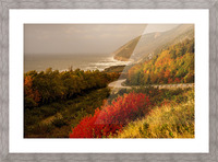 Autumn on the Cabot Trail Picture Frame print
