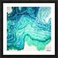 Ocean Floor Picture Frame print
