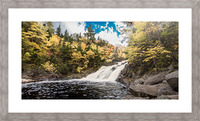 Colorful Mary Ann Falls Picture Frame print