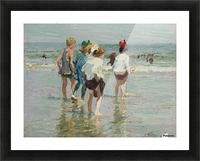 Summer day, Brighton Beach Picture Frame print