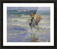 At the Beach Picture Frame print
