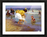 At the Seashore Picture Frame print