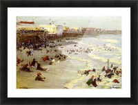 Coney Island Picture Frame print