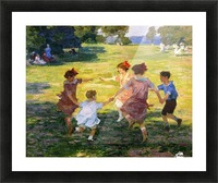 Ring Around the Rosie Picture Frame print