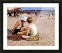 Summer Vacation Picture Frame print
