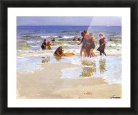 At the Seashore II Picture Frame print