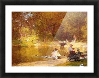 In Central Park Picture Frame print