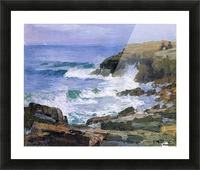 Looking out to Sea Picture Frame print