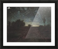 Starry Night Picture Frame print
