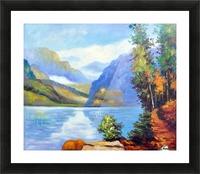 Lake Louise, British Columbia Picture Frame print
