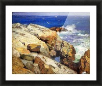 The Maine Coast Picture Frame print
